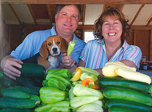 Maurice and Deborah Jones own and operate Jones Family Farm Market, Edgewood, Maryland.